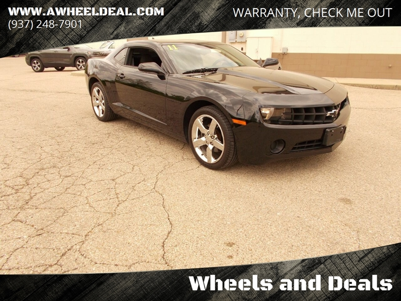 2011 Chevrolet Camaro Ls 2dr Coupe W 2ls In New Lebanon Oh