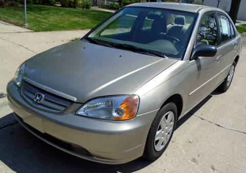 2003 Honda Civic for sale at Waukeshas Best Used Cars in Waukesha WI