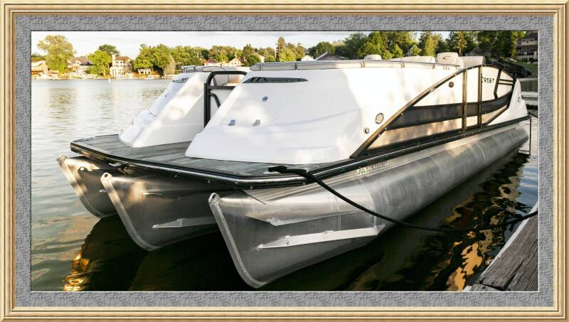 2018 CREST Savannah Tritoon 250 NX for sale at Waukeshas Best Used Cars in Waukesha WI