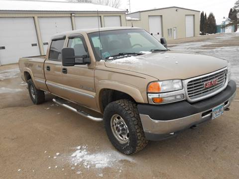 2001 GMC Sierra 2500HD for sale in Alexandria, MN