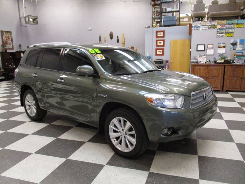 2008 Toyota Highlander Hybrid for sale at Santa Fe Auto Showcase in Santa Fe NM