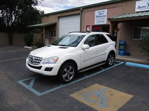 2009 Mercedes-Benz M-Class for sale at Santa Fe Auto Showcase in Santa Fe NM