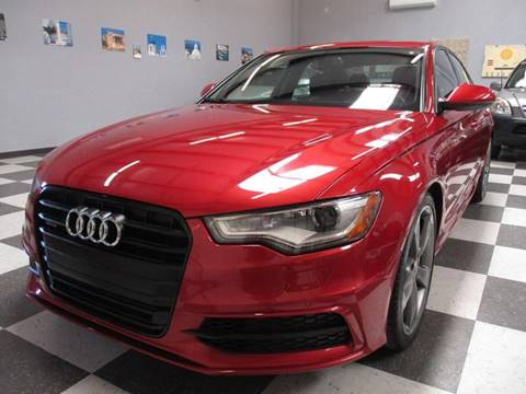 2014 Audi A6 for sale at Santa Fe Auto Showcase in Santa Fe NM