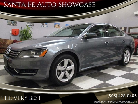 2013 Volkswagen Passat for sale at Santa Fe Auto Showcase in Santa Fe NM