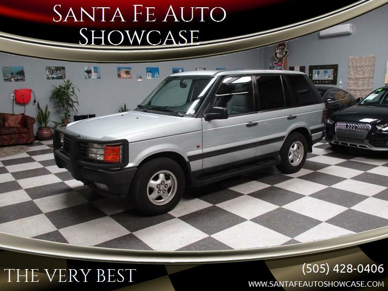 1996 Land Rover Range Rover for sale at Santa Fe Auto Showcase in Santa Fe NM