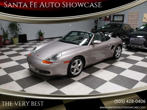 2001 Porsche Boxster for sale at Santa Fe Auto Showcase in Santa Fe NM