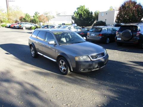 2003 Audi Allroad for sale at Santa Fe Auto Showcase in Santa Fe NM