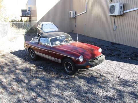 1977 MG MGB for sale at Santa Fe Auto Showcase in Santa Fe NM