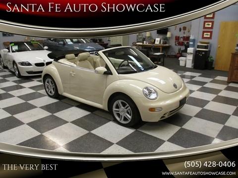 2004 Volkswagen New Beetle for sale at Santa Fe Auto Showcase in Santa Fe NM