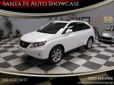 2010 Lexus RX 350 for sale at Santa Fe Auto Showcase in Santa Fe NM