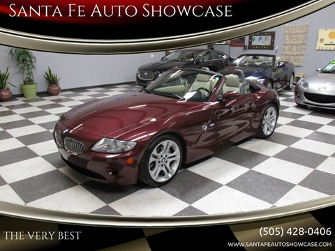 2005 BMW Z4 for sale at Santa Fe Auto Showcase in Santa Fe NM
