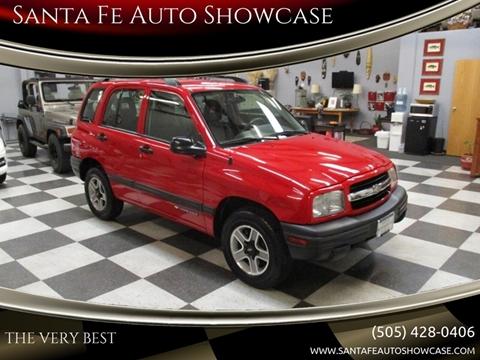 2002 Chevrolet Tracker for sale at Santa Fe Auto Showcase in Santa Fe NM