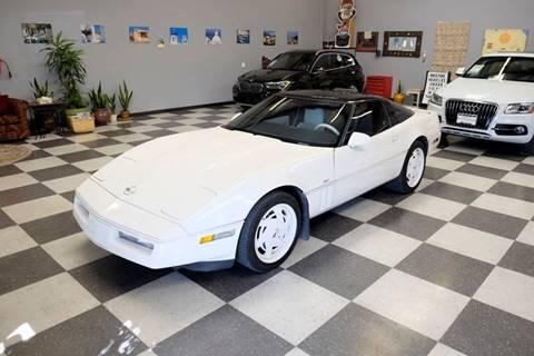 1988 Chevrolet Corvette for sale at Santa Fe Auto Showcase in Santa Fe NM