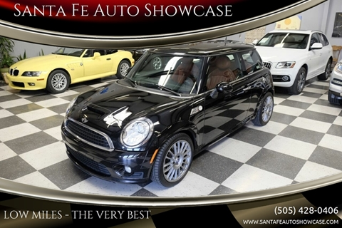 2010 MINI Cooper for sale at Santa Fe Auto Showcase in Santa Fe NM