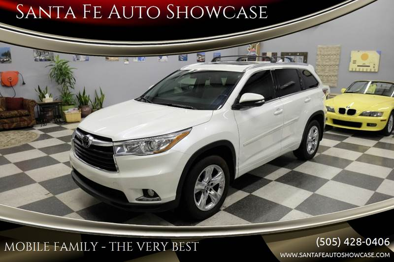 2016 Toyota Highlander for sale at Santa Fe Auto Showcase in Santa Fe NM