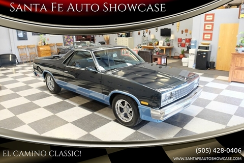 1987 Chevrolet El Camino for sale at Santa Fe Auto Showcase in Santa Fe NM