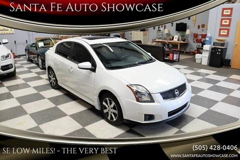 2012 Nissan Sentra for sale at Santa Fe Auto Showcase in Santa Fe NM