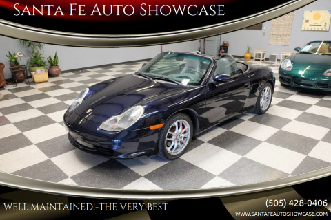 2003 Porsche Boxster for sale at Santa Fe Auto Showcase in Santa Fe NM