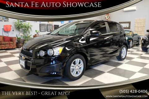 2016 Chevrolet Sonic for sale at Santa Fe Auto Showcase in Santa Fe NM