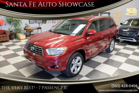 2008 Toyota Highlander for sale at Santa Fe Auto Showcase in Santa Fe NM
