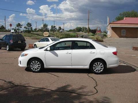 2012 Toyota Corolla for sale at Santa Fe Auto Showcase in Santa Fe NM