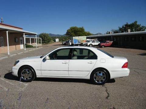2002 Lexus LS 430 for sale at Santa Fe Auto Showcase in Santa Fe NM