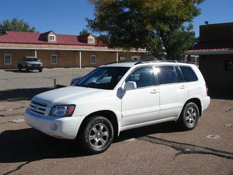 2004 Toyota Highlander for sale at Santa Fe Auto Showcase in Santa Fe NM