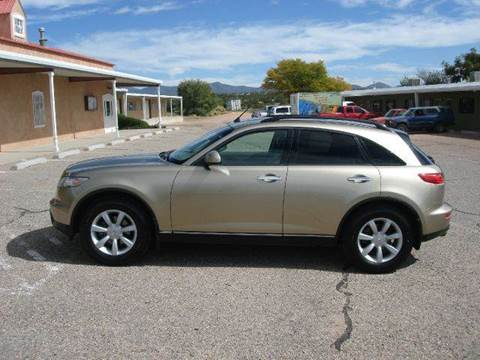 2004 Infiniti FX35 for sale at Santa Fe Auto Showcase in Santa Fe NM