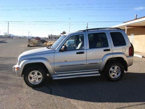2002 Jeep Liberty for sale at Santa Fe Auto Showcase in Santa Fe NM