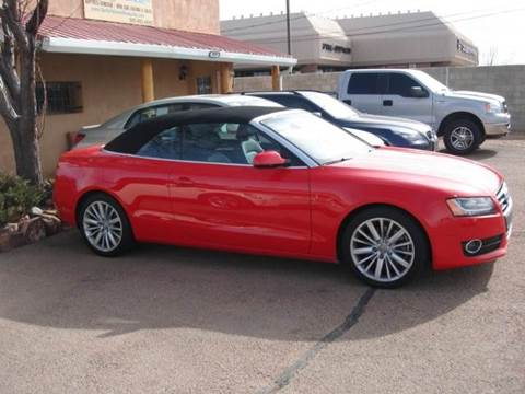 2010 Audi A5 for sale at Santa Fe Auto Showcase in Santa Fe NM