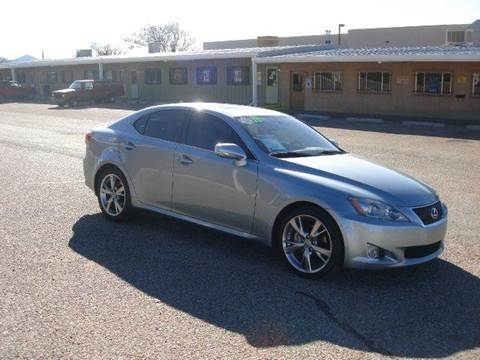 2010 Lexus IS 250 for sale at Santa Fe Auto Showcase in Santa Fe NM