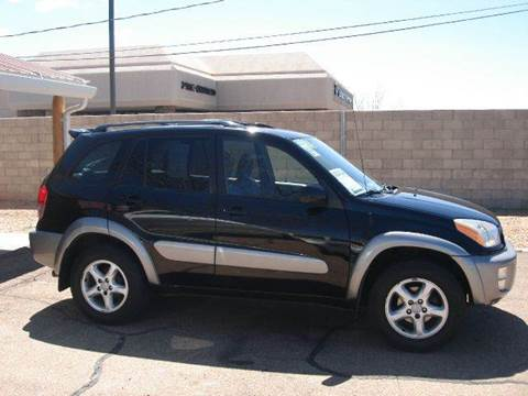 2001 Toyota RAV4 for sale at Santa Fe Auto Showcase in Santa Fe NM
