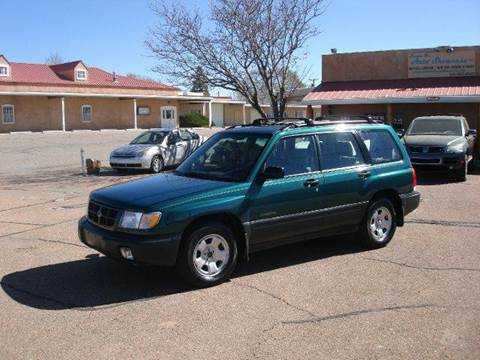2000 Subaru Forester for sale at Santa Fe Auto Showcase in Santa Fe NM