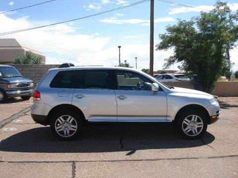 2005 Volkswagen Touareg for sale at Santa Fe Auto Showcase in Santa Fe NM
