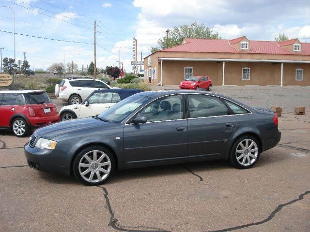 2004 Audi A6 for sale at Santa Fe Auto Showcase in Santa Fe NM