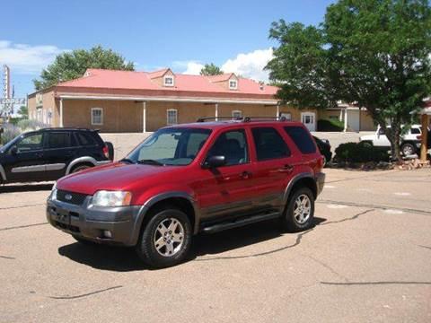 2004 Ford Escape for sale at Santa Fe Auto Showcase in Santa Fe NM