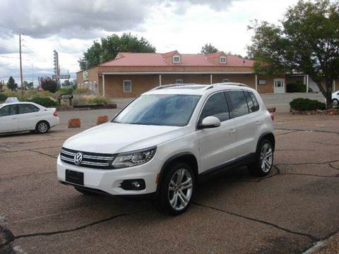 2013 Volkswagen Tiguan for sale at Santa Fe Auto Showcase in Santa Fe NM