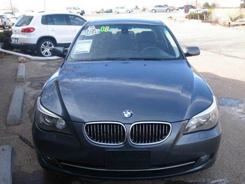 2008 BMW 5 Series for sale at Santa Fe Auto Showcase in Santa Fe NM