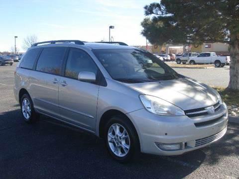 2004 Toyota Sienna for sale at Santa Fe Auto Showcase in Santa Fe NM