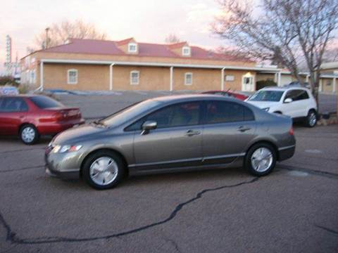 2007 Honda Civic for sale at Santa Fe Auto Showcase in Santa Fe NM