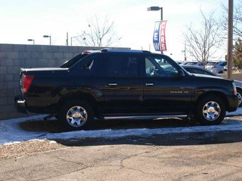 2003 Cadillac Escalade EXT for sale at Santa Fe Auto Showcase in Santa Fe NM