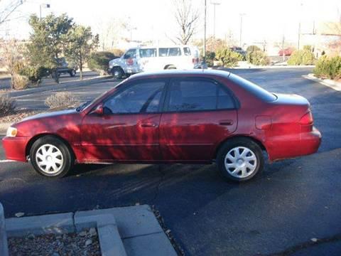 2001 Toyota Corolla for sale at Santa Fe Auto Showcase in Santa Fe NM