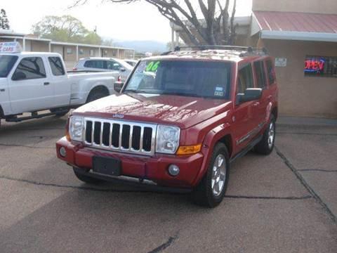 2006 Jeep Commander for sale at Santa Fe Auto Showcase in Santa Fe NM