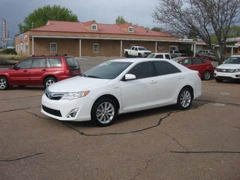 2012 Toyota Camry Hybrid for sale at Santa Fe Auto Showcase in Santa Fe NM