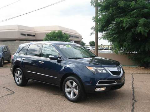 2012 Acura MDX for sale at Santa Fe Auto Showcase in Santa Fe NM