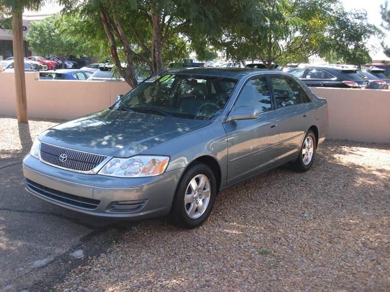Toyota Avalon XL Dr Sedan WBucket Seats In Santa Fe NM - 2001 avalon
