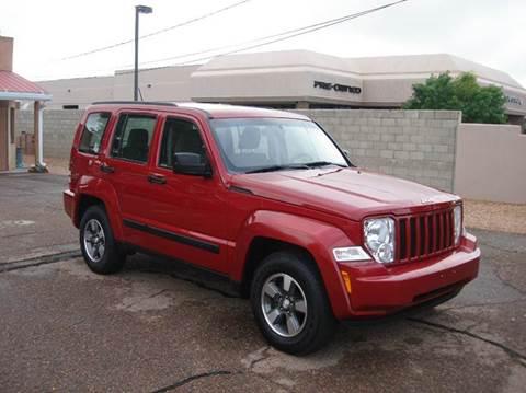 2008 Jeep Liberty for sale at Santa Fe Auto Showcase in Santa Fe NM