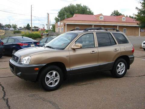 2003 Hyundai Santa Fe for sale at Santa Fe Auto Showcase in Santa Fe NM