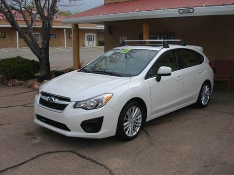 2013 Subaru Impreza for sale at Santa Fe Auto Showcase in Santa Fe NM