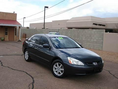 2004 Honda Accord for sale at Santa Fe Auto Showcase in Santa Fe NM